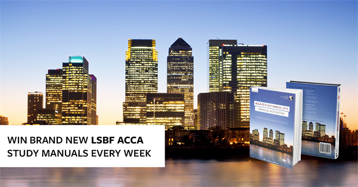 Lsbf launches brand new acca study manuals fandeluxe Choice Image