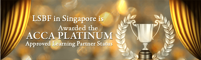 LSBF in Singapore awarded with ACCA Platinum Approved Learning Partner Status