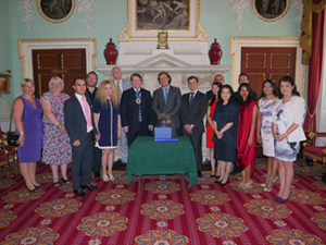 Lord Mayor of London presents LSBF with Queen's Award for Enterprise