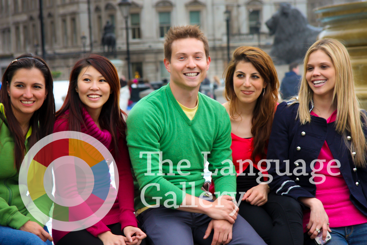 The Language Gallery Students