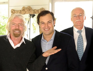 Richard Branson speaks to LSBF