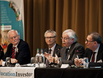 LSBF Rector Speaks at the Education Investor Summit