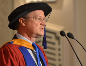 Prof James Kirkbride speech to inspire graduates future success