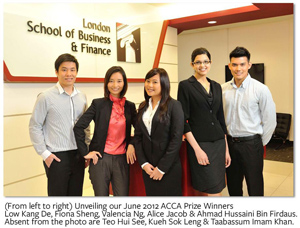 LSBF in Singapore awarded with ACCA Gold Approved Learning Partner Status
