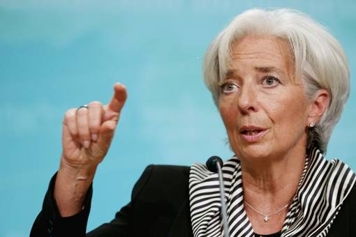 IMF chief warns of slower growth
